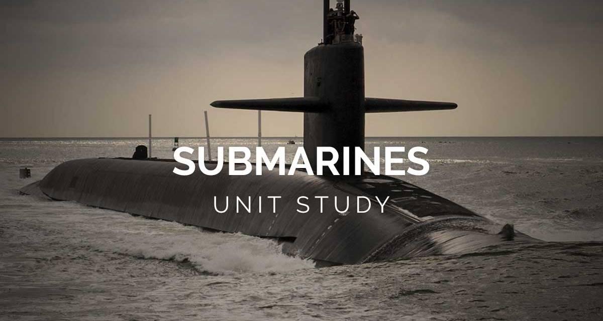 Submarine Day Unit Study