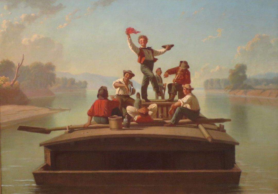 Bingham - The Jolly Flatboatmen