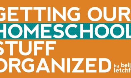 Getting Our Homeschool Stuff Organised