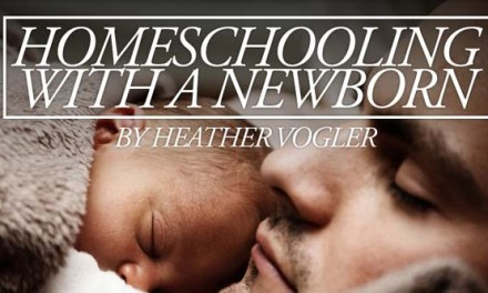 Homeschooling With a Newborn