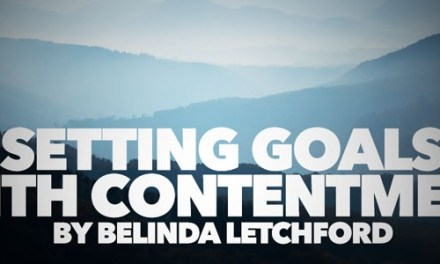 Setting Goals with Contentment