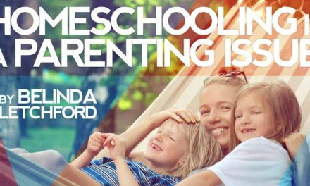Homeschooling is a Parenting Issue