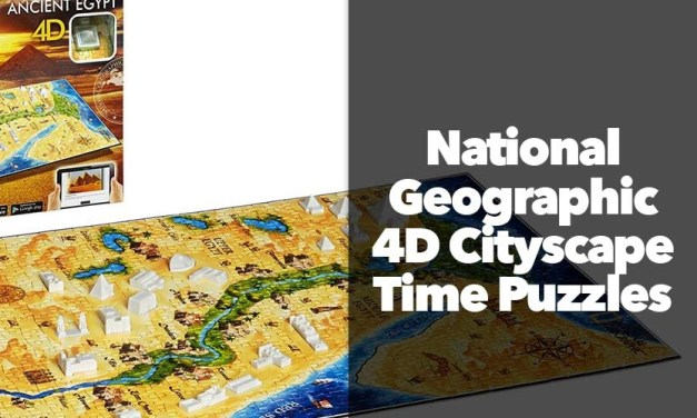 National Geographic 4D Cityscape Time Puzzles