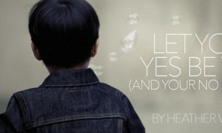 Let Your Yes Be Yes