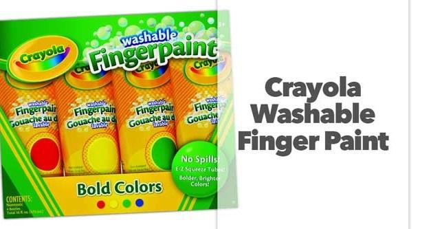 Crayola Washable Finger Paint