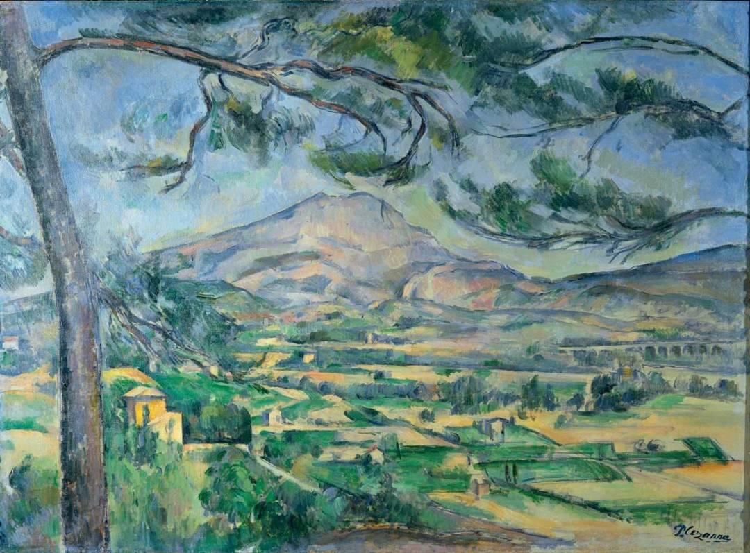 Paul Cezanne's Mont Sainte-Victoire