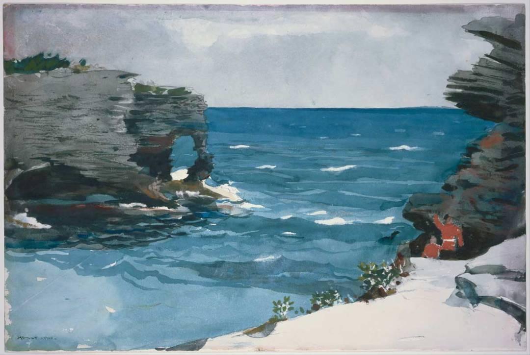 Winslow Homer's Rocky Shore