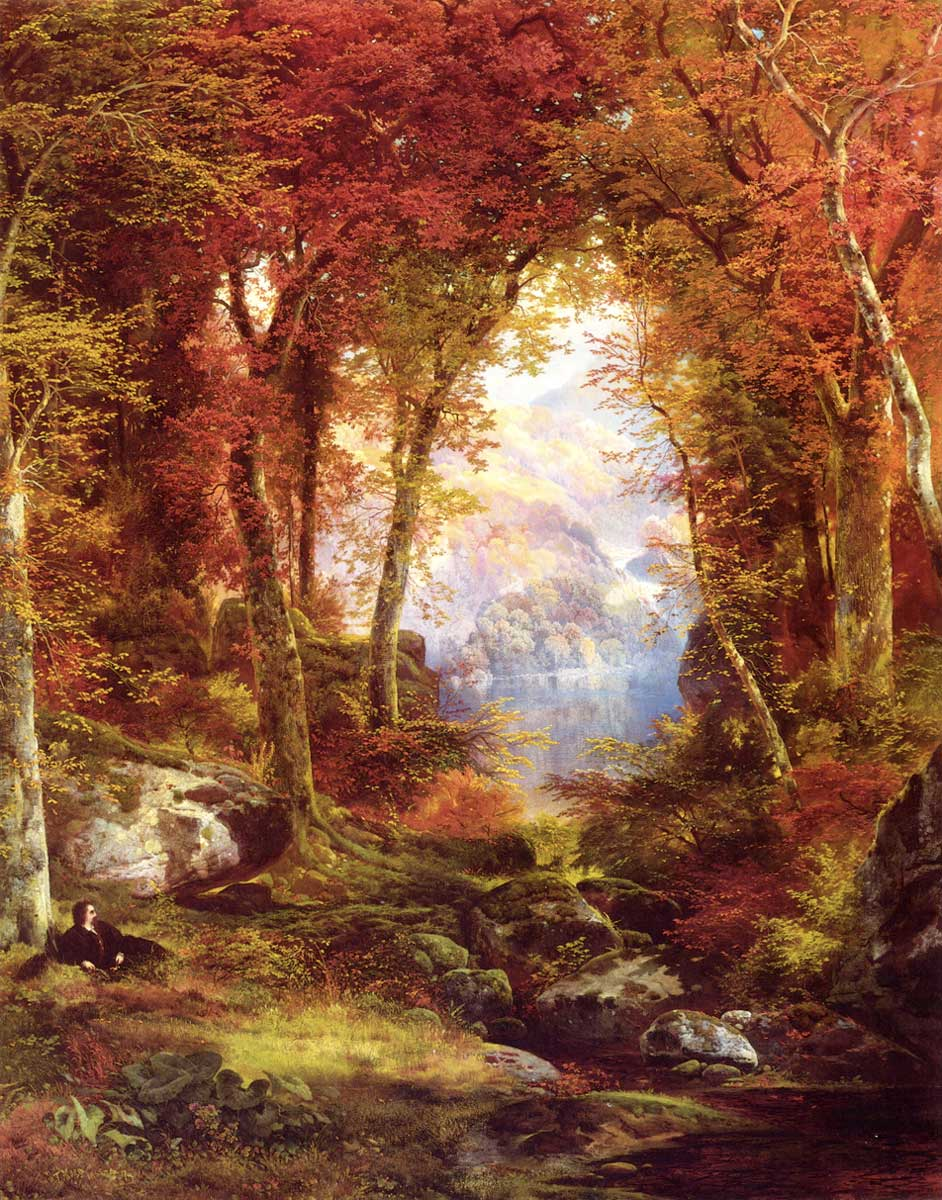 Thomas Moran's Under the Trees