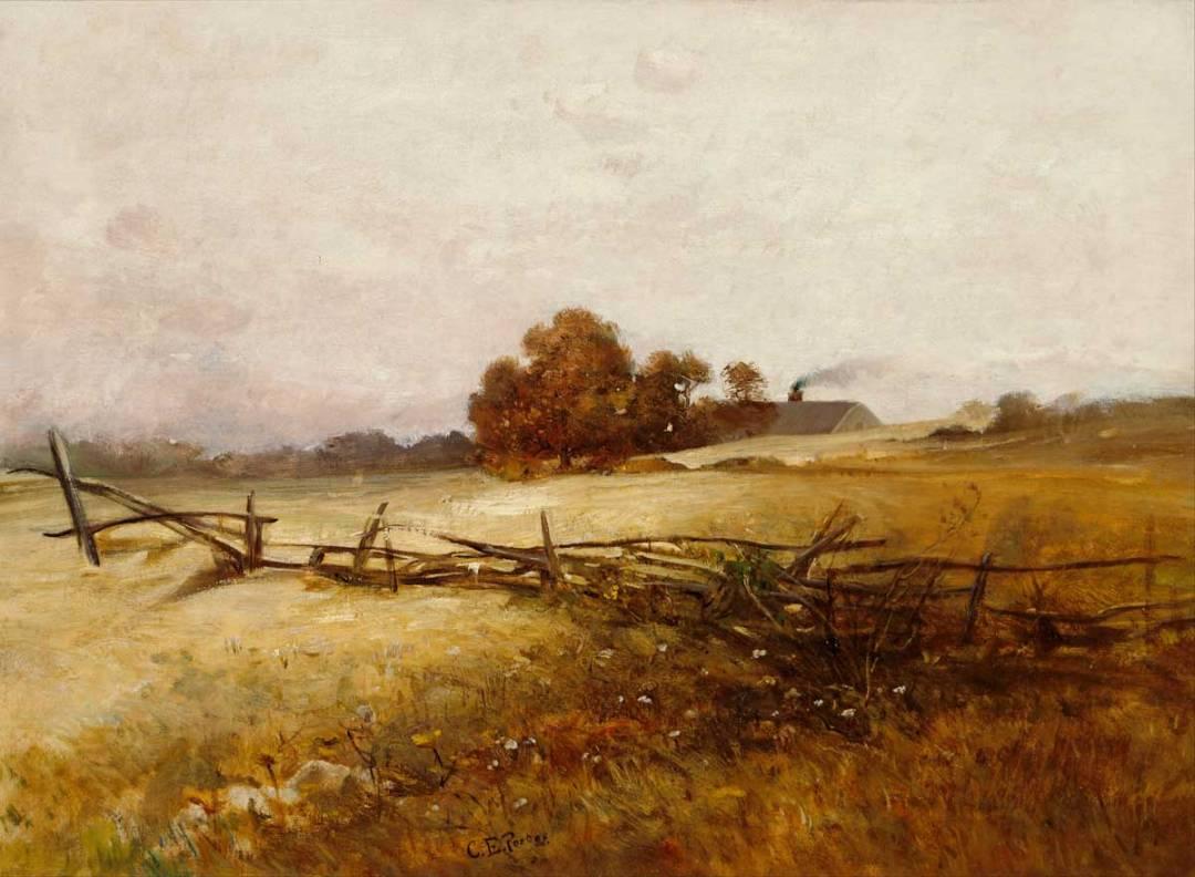 Charles Ethan Porter's Autumn Landscape