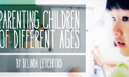 Parenting Children of Different Ages