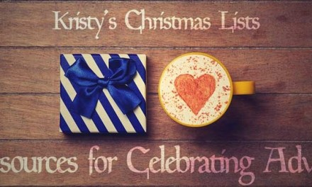 Kristy's Christmas Lists: Resources for Celebrating Advent