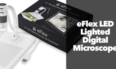 eFlex LED Lighted Digital Microscope