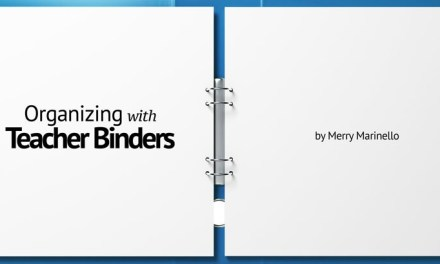 Organizing with Teacher Binders