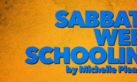 Sabbath Week Schooling