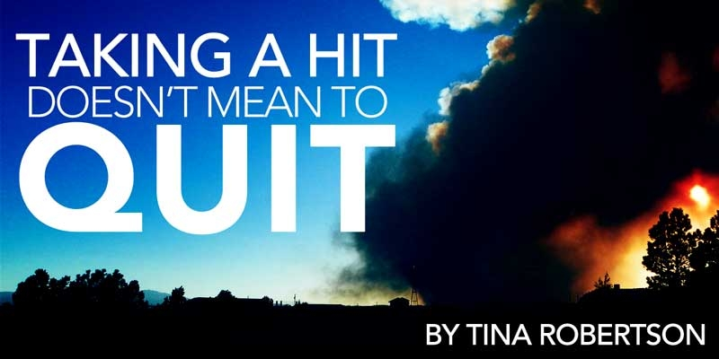 Taking a Hit Doesn't Mean to Quit: Homeschooling Through Crisis