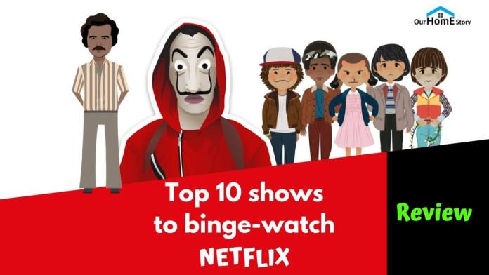 Top 10 Shows netflix 2020
