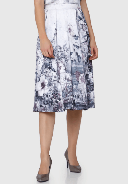 A Casual Midi Skirt
