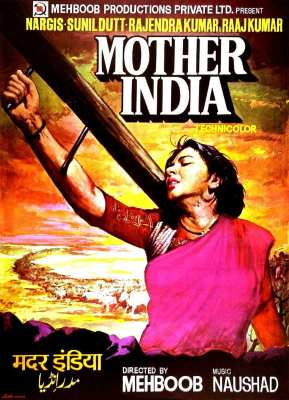 Mother India Poster-movie for mother day