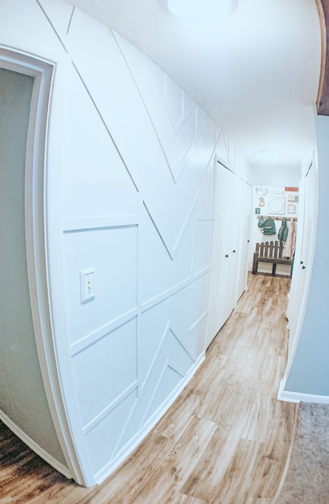 Step by Step Budget Friendly Modern Wood Accent Wall You're Going to Love