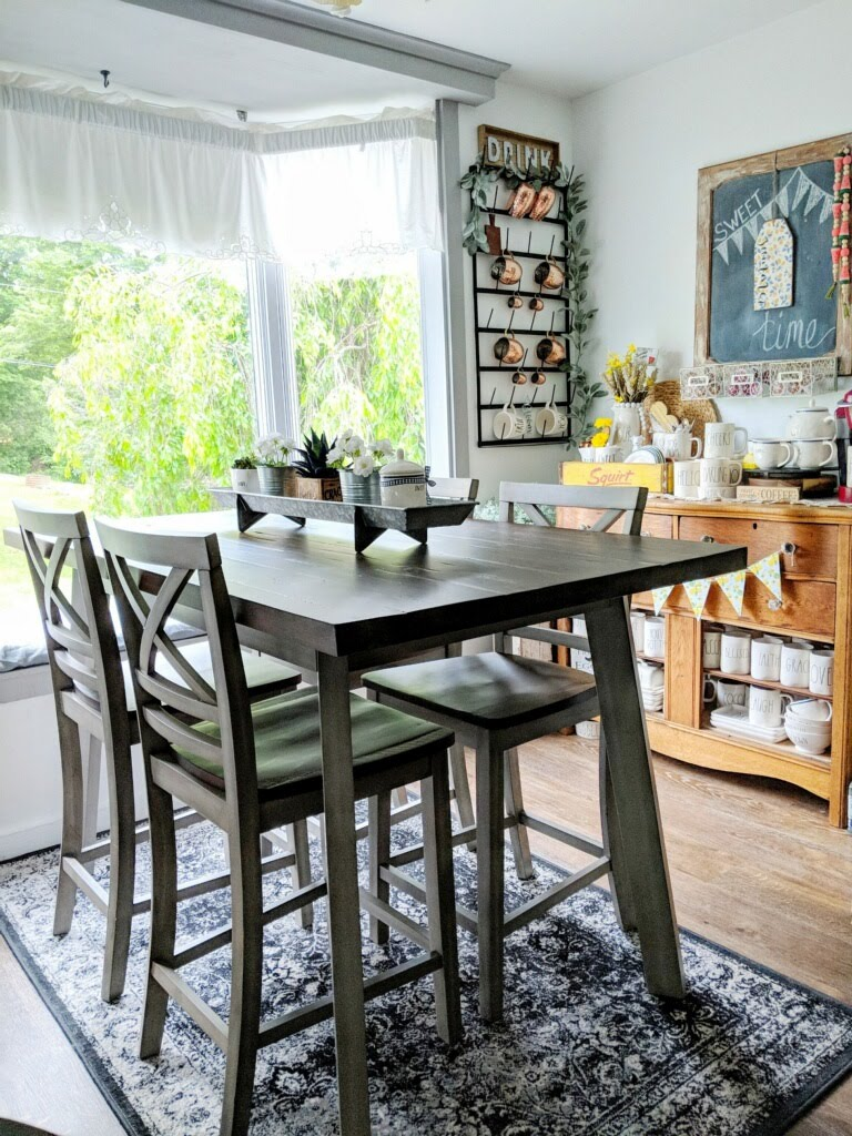 Home Tour Guest Post: Farmhouse Kitchen - Our Home with Hounds