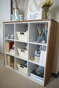 Cabinet upcycle, creating craft supply storage  Our House ...