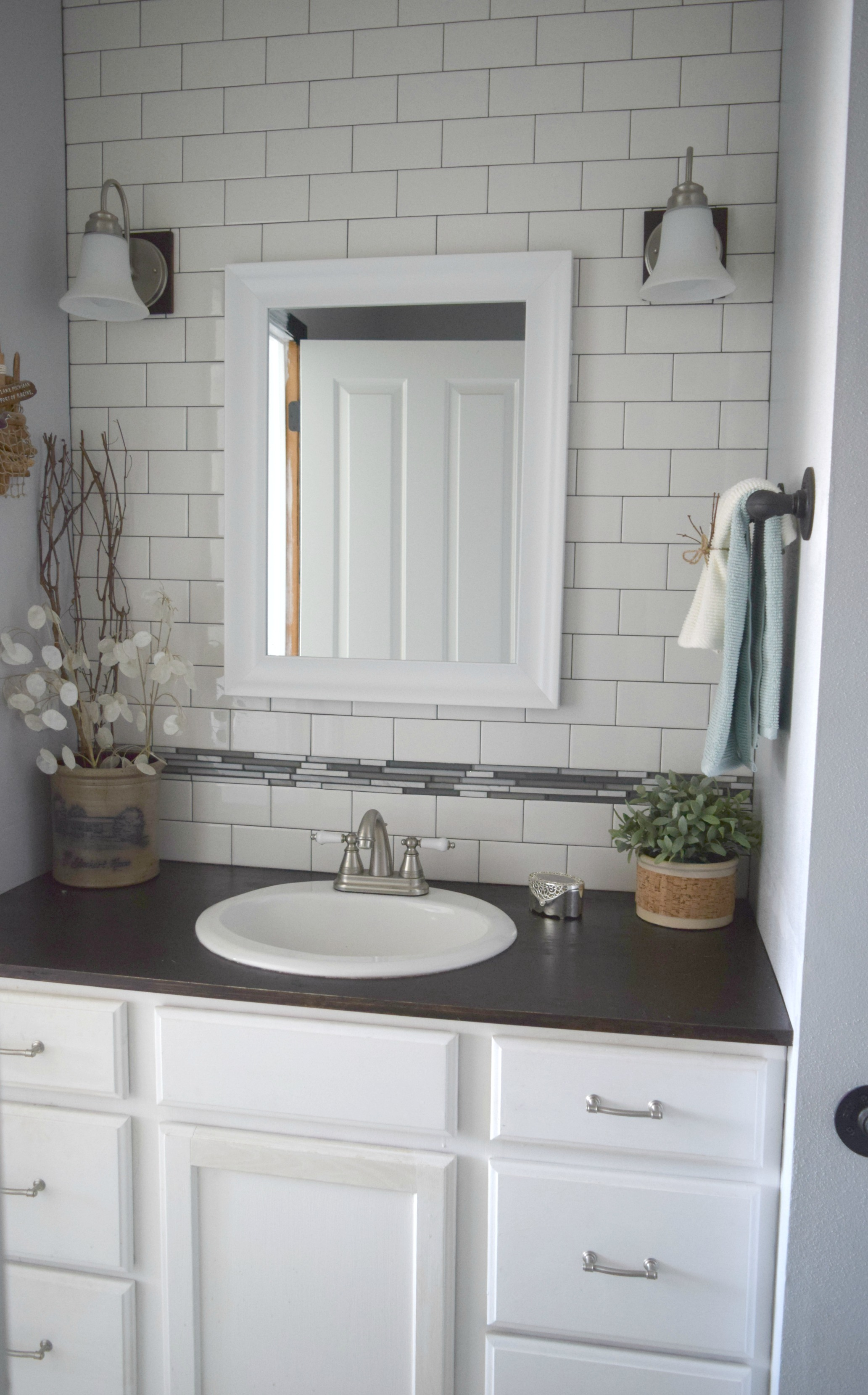 Simple bathroom updates  Our House Now a Home