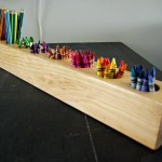 How To Make A 4x4 Wood And Rustic Art Supply Organizer Our House Now A Home