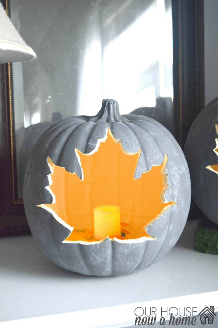 Diy Pumpkin Craft Simple Project For Fall Our House Now A Home