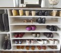 How To Make A Diy Shoe Organizer And Rack For The Closet Our House Now A Home
