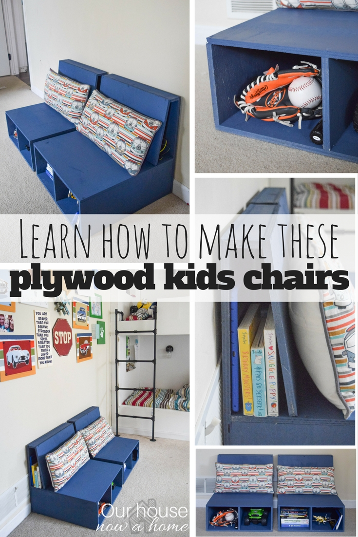 how to make a plywood chair gray chaise lounge learn these diy kids with storage simple steps for this furniture build project