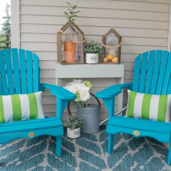 Outdoor Porch Chairs Walmart Folding Camping Front Decorating Ideas With The Perfect Adirondack