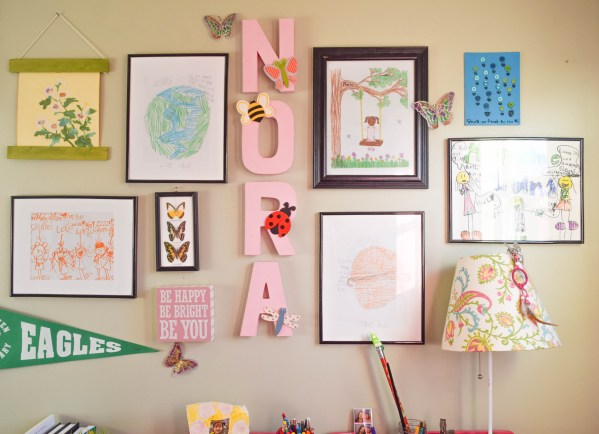 Personalize Wall Kid' Space