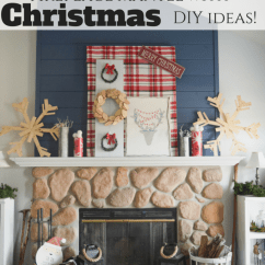 Ideas For Decorating My Living Room Christmas How To Place Furniture In A Holiday Handmade Fireplace Mantel With Diy Decor