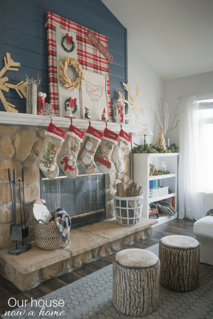 Holiday home tour filled with DIY simple  low cost ideas  Our House Now a Home