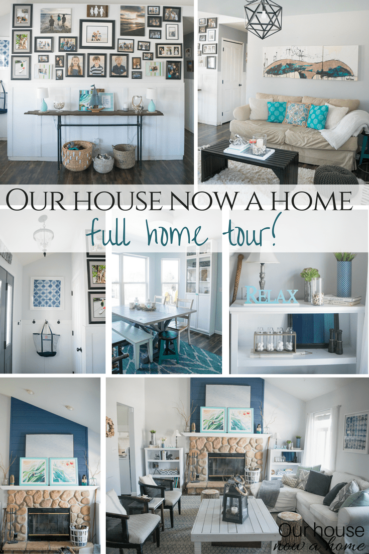 Home tour  filled with DIY low cost and simple decorating ideas  Our House Now a Home