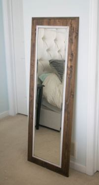 Easy to make DIY mirror frame  Our House Now a Home