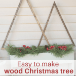 Diy Wood Christmas Tree Craft Our House Now A Home