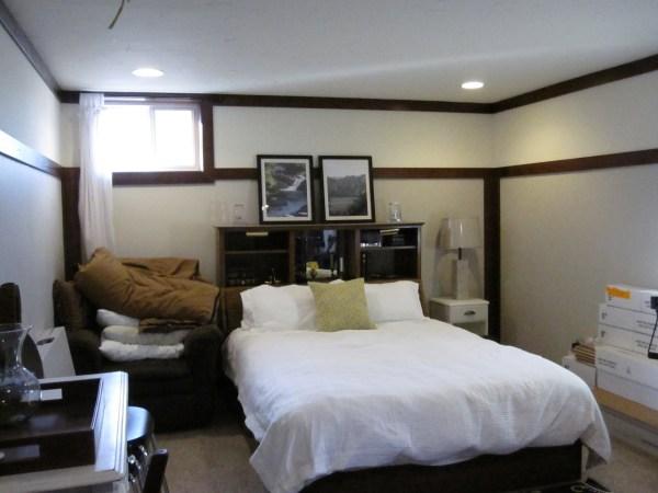 basement bedroom remodeling ideas Basement Progress: Large Bedroom