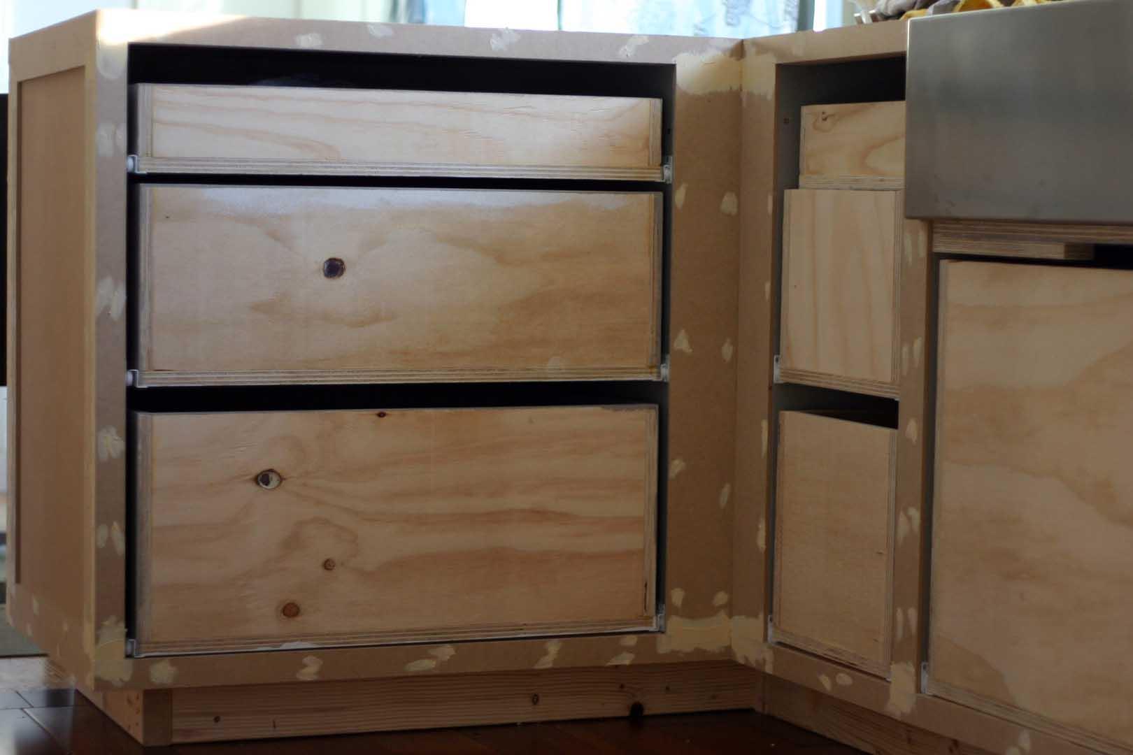 Kitchen Cabinet Face Frame Peninsula