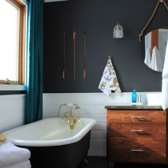 Modern Furniture For Small Living Room New York Club Bathroom Before And After | Our Humble Abode