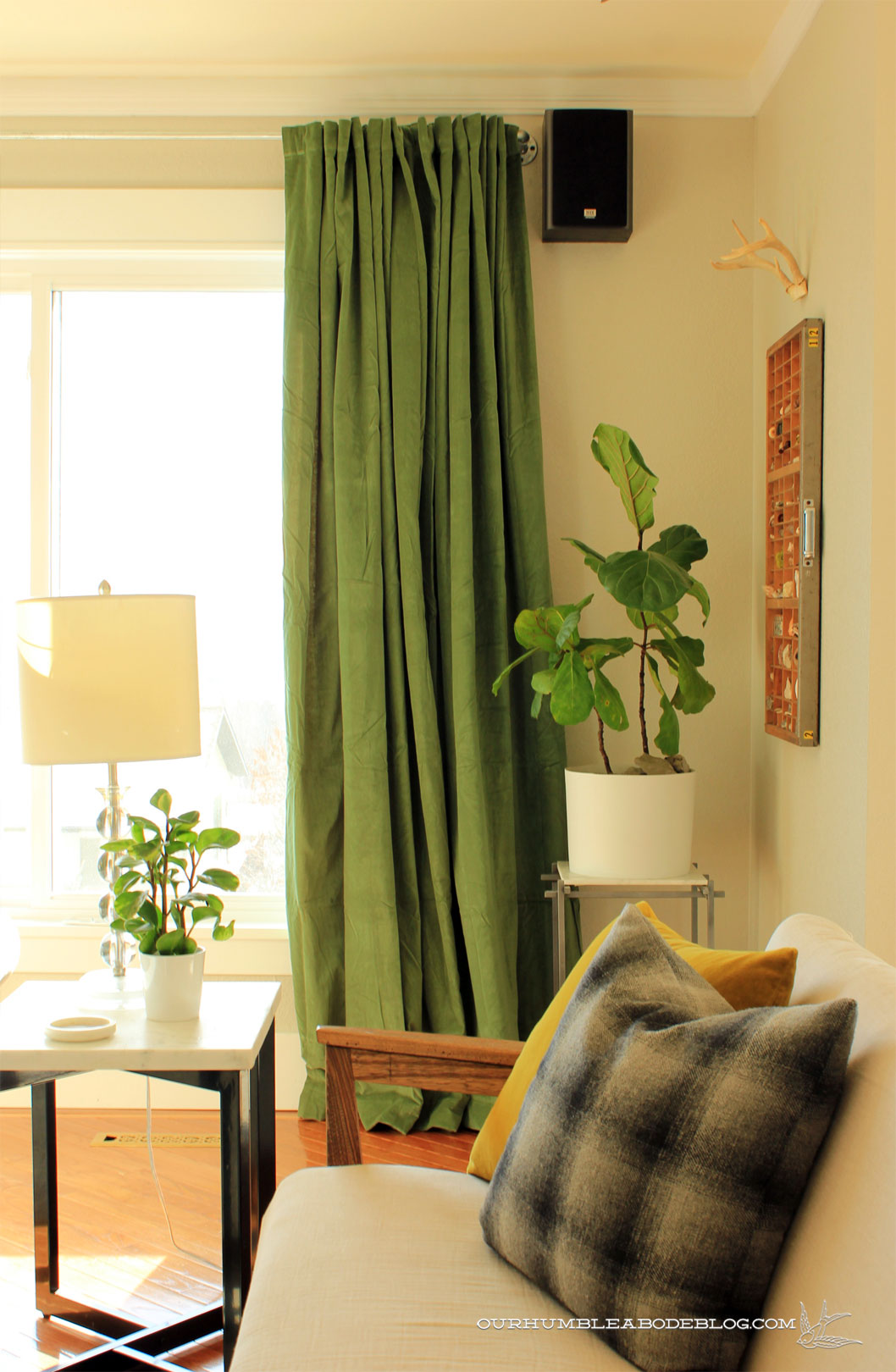 green curtains for living room red black furniture in by sofas jpg