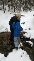 A little helping hand across the stream