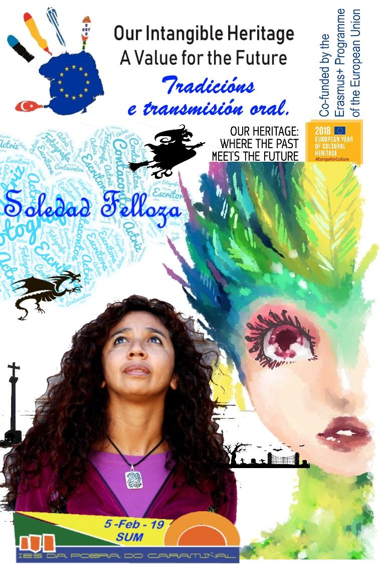 Storytelling and oral transmission with Soledad Felloza.