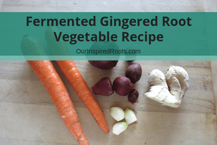 Lacto-Fermented Gingered Root Vegetables (recipe and review)