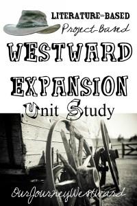 Westward Expansion Unit Study