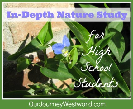 High School Nature Study | Our Journey Westward