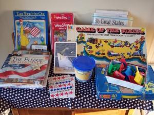 Patriotic Learning Center Ideas