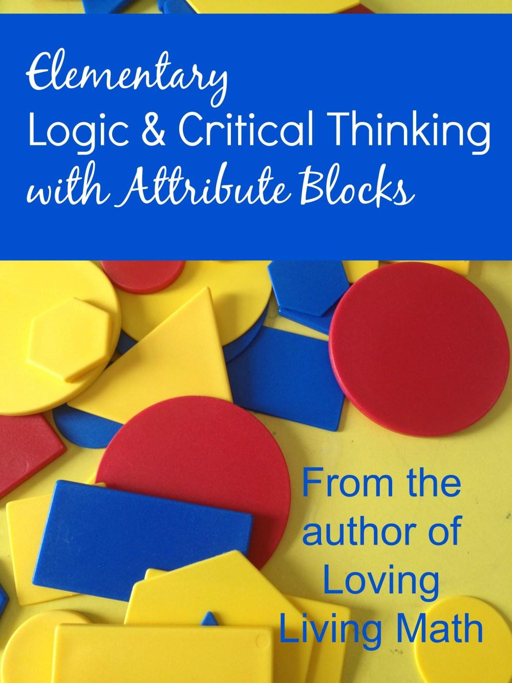 medium resolution of Living Math: Using Attribute Blocks - Our Journey Westward