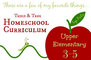 Cindy West shares her very favorite homeschooling curriculum for 3rd-5th graders.
