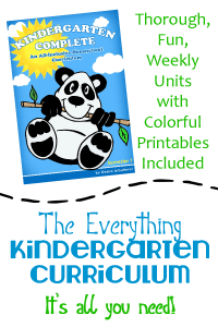 Kindergarten Complete: All-in-One FUN Unit Study Curriculum